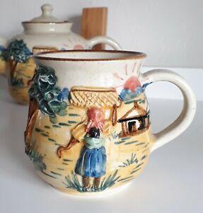 m4-22 Dedza Malawi Pottery Earthenware Mug