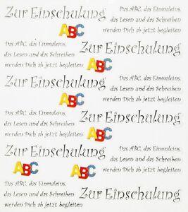 Karte Schreiben Schulanfang.Details Zu Top Design Sticker Aufkleber Zum Schulanfang M Spruch Einschulung 404