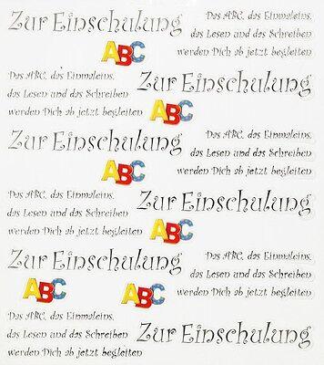Top Design Sticker Aufkleber Zum Schulanfang M Spruch Einschulung