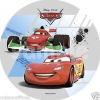 Essbar Tortendeko Cars Lightning Mc Queen Tortenaufleger Neu Backen Party Deko