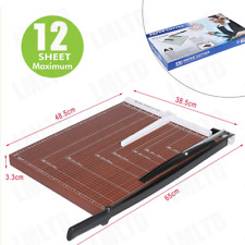 New Listinga2 B7amppaper Trimmer Paper Cutter Heavy Duty Trimmer 18 Inch Cut Length 12sheets