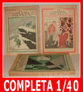 LA-RISATA-Annata-Completa-IV-NERBINI-1923-Giornale-Umoristico