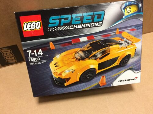 New Sealed LEGO 75909 Speed Champions McLaren P1 Discounted Rare