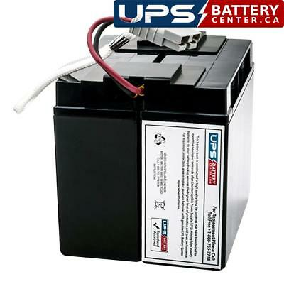 RBC43 Battery Cartridge Replaces Battery Pack in SMT3000RMI2U by UPSBatteryCenter