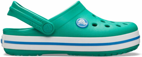 Prep Blau Croslite N crocs Clog mit Fersenriemen Crocband Clog Kids Deep Green