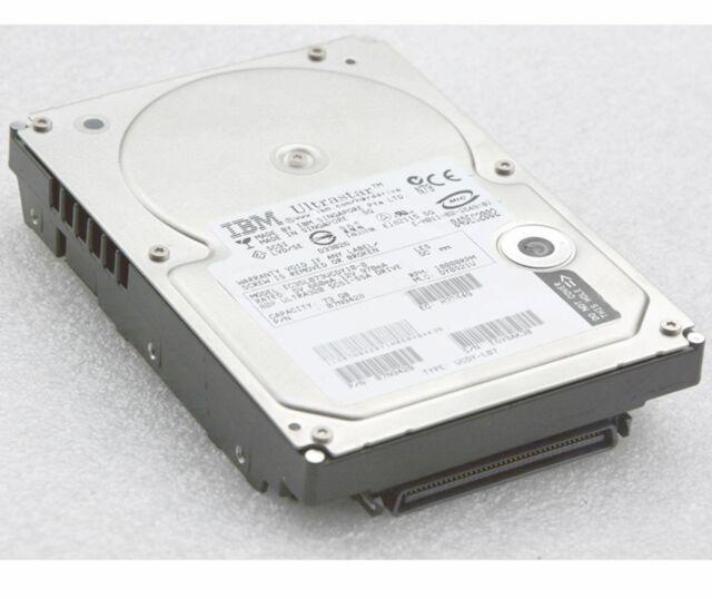 80-pol 73gb IBM Hitachi Ic35l073ucdy10-0 07n9428 SCSI Hard Drive Hard Drive N812