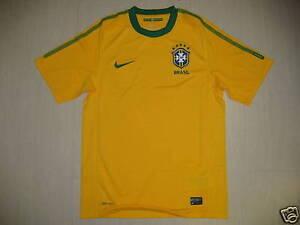 0954 Nike Tg M Brasile Brasil Brazil Maglia Maglietta Home 2010 Shirt Jersey Facile à RéParer
