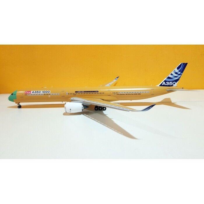 Jc LH2088A 1/200 Airbus Industrie A350-1000 F-Wmil Nudo Metallo Flaps Down