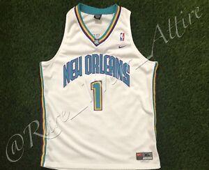 956d187781a7 NBA JERSEY OKC NEW ORLEANS HORNETS BARON DAVIS NIKE SWINGMAN SZ XL ...