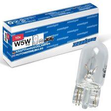 10x W5W XENOHYPE Classic T10 12 V 5 Watt Glassockellampe