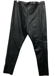 Black Faux Leather Legging From Wild Fable Size Large NWT