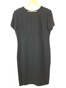 Jaki-K-SYDNEY-VINTAGE-Black-Embellished-Stud-Sheath-Pencil-Dress-Women-039-s-Size-14