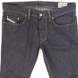 f8d9ea1b Mens Diesel LARKEE 0802A Straight Regular Fit Blue Jeans W32 L34 | eBay