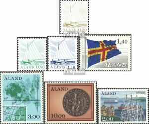 Sweet-Tempered Finland complete.issue. Volume 1984 Completeett Unmounted Mint / Fragrant Aroma Aland 1-6,7