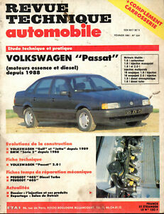 RTA revue technique automobile n° 524  VOLKSWAGEN PASSAT