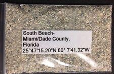 Florida Miami South Beach Sand Sample