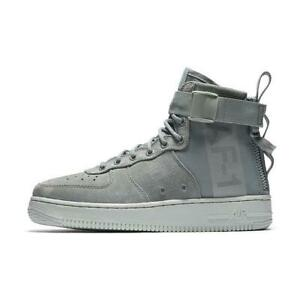 huge discount 070d0 005bc Image is loading WMNS-AIR-FORCE-1-MID-AA3966-006-LIGHT-