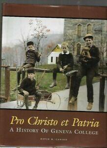 TT - History of Geneva College Christian Beaver Falls Pennsylvania B&W Photos PA