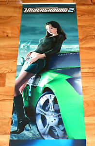 Need For Speed Underground 2 Promo Game Store Banner Poster Ps2