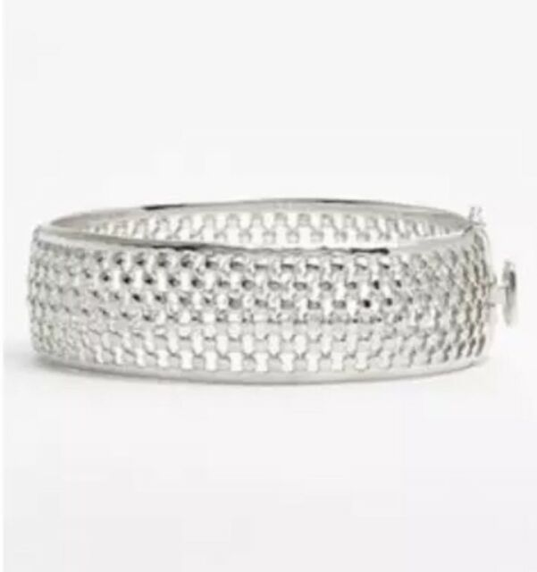 Silver Bangle Bracelet 0155