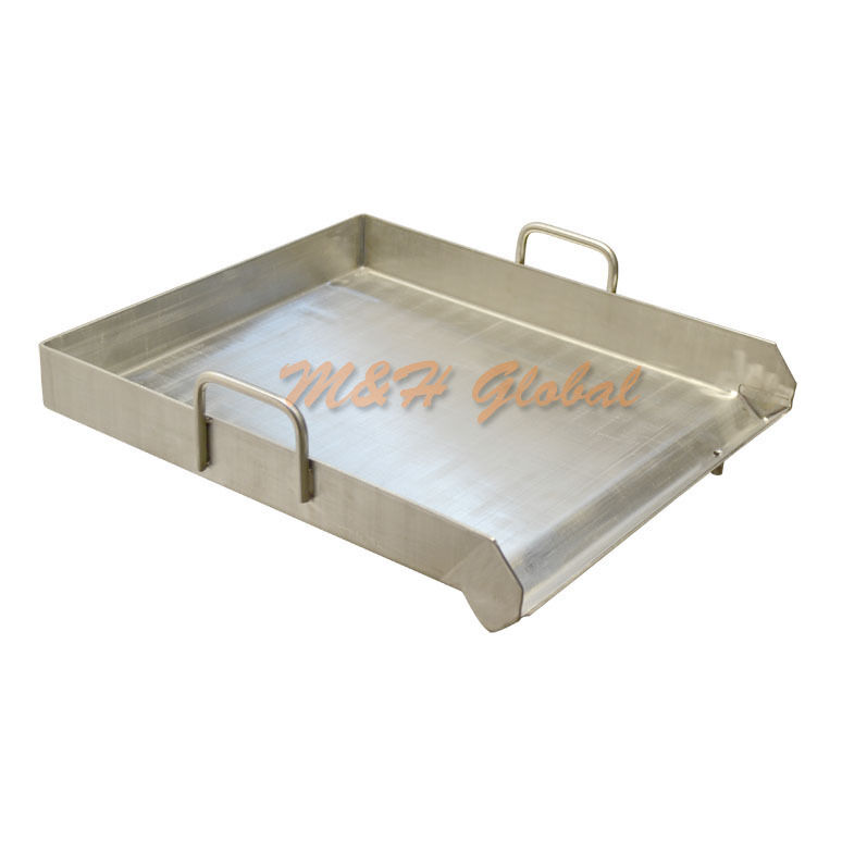 Heavy Duty 18 x16  Stainless Flat Top Griddle  Grill Plancha Single Burner Stove  store online