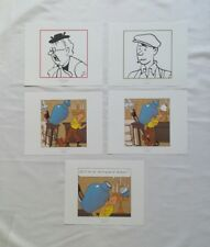 Lot 5 Ex libris Tintin Le secret de la Licorne / HERGE MOULINSART 2011 / BD