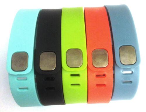 NO TRACKER 5 sSmall TANGERINE SLATE TEAL BLACK LIME for FitBit FLEX Wristbands