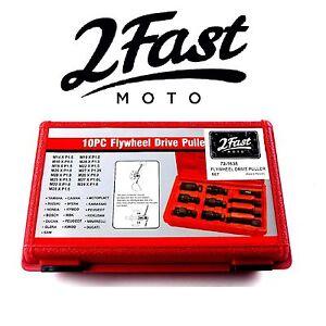 2FastMoto-10PC-Flywheel-Drive-Puller-Set-Triumph-Motorcycle-Rotor-Flywheel