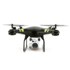 Wide Angle Lens HD Camera Quadcopter RC Drone WiFi FPV Live Helicopter Hover BK