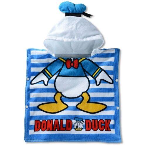 cute Donald Duck cotton bathrobe cloak kids bath swim beachTowel UQ33 CUTE