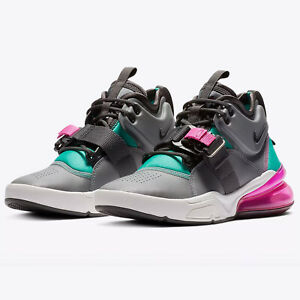 Details about Nike Air Force 270 Youth Womens Sizes Cool Gray MSRP $145 Sneakers