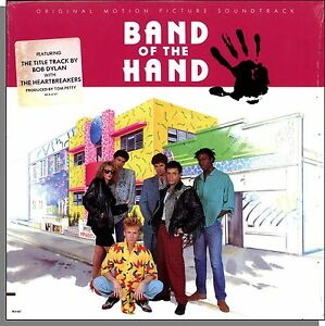Band-of-the-Hand-New-1986-Original-Soundtrack-LP-Record-With-Bob-Dylan