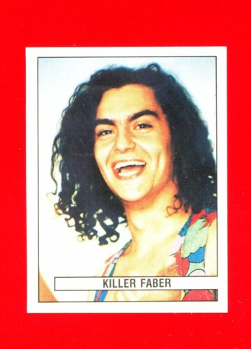 KILLER FABER -New n DISCOTECHE /'93 -Panini 1993- Figurine-stickers 132