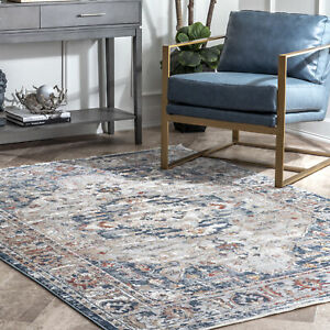 nuLOOM-Josephine-Winged-Cartouche-Area-Rug-in-Gray