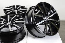 18 5x108 Black Wheels Fits Volvo Lincoln Ls Mk Jaguar X Type Cougar Taurus Rims