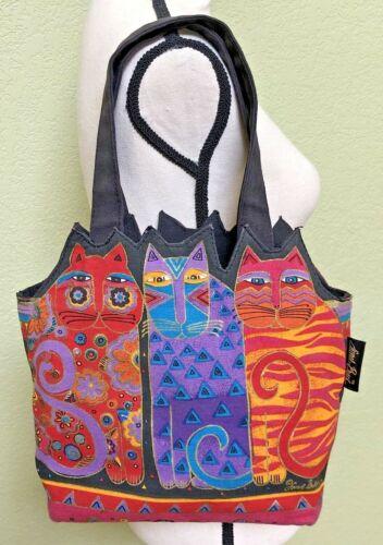 Feline Friends Cat Laurel Burch Small Canvas Cutou