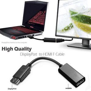 Display-Port-DP-To-HDMI-Adapter-Converter-PC-Computer-Laptop-Nvidia-amp-AMD-GPU