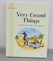 Disney Classic Pooh - Very Grand Things Board Book (2010, Book, Other)
