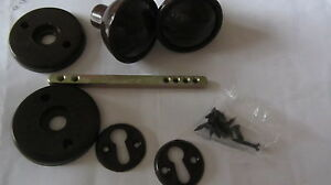 2 sets of SHED HANDLES KNOBS brown PLASTIC plus fixing screws GARDEN SHED