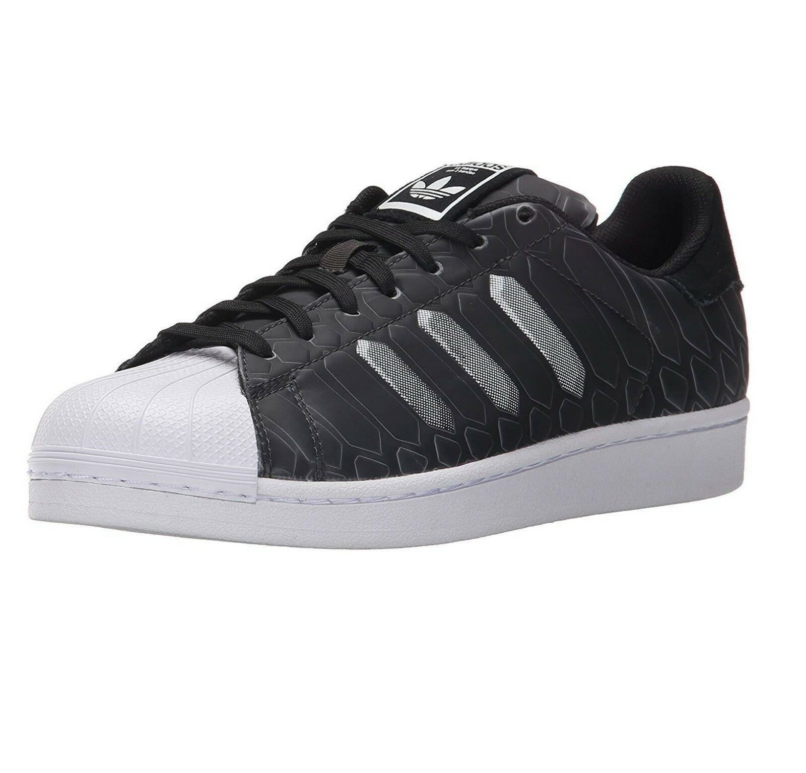 Adidas Originals Superstar CTXM Chromatech Black White AQ7841 Mens Size 11.5
