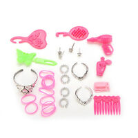 42 Pcs Doll Accessories Shoes For Barbie Doll Arrived For Kids Baby Sk