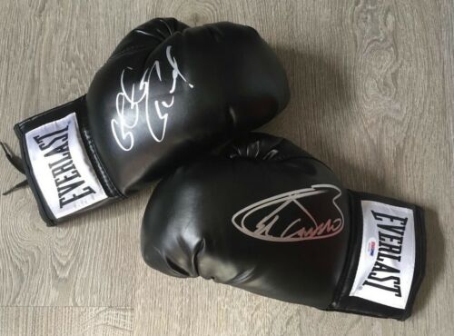 GGG v CANELOSigned Gloves Very Rare Fantastic Signed Everlast Gloves!