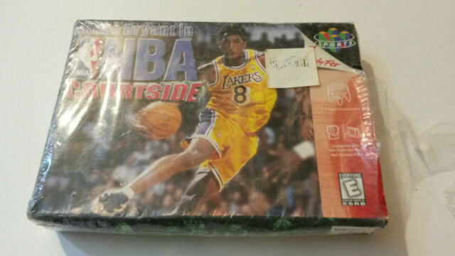 Kobe Bryant in NBA Courtside Nintendo 64 N64 BRAND NEW IN PLASTIC