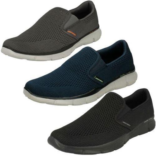 Hombre Skechers Espuma Viscoelástica Zapatos para Andar ' Doble Play '