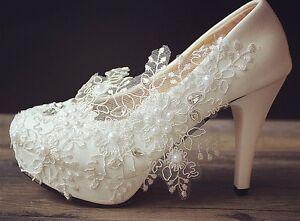 Image Is Loading Snowflake White Ivory Wedding Bridal Shoes Flats Low