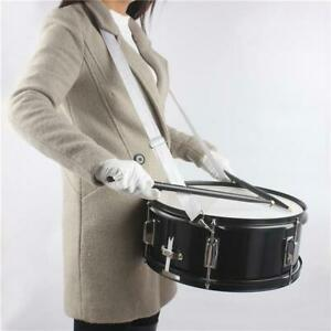 14-x-5-5-inches-Professional-Marching-Snare-Drum-amp-Drum-Stick-amp-Drum-Key-amp-Strap