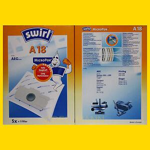 5-Beutel-Swirl-A-18-MicroPor-Staubsaugerbeutel-A18-FREI-HAUS-Warensendung