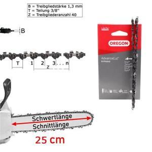 2 Sägeketten passend Scheppach CSP254025cm 3//8LP 40TG 1,3mm