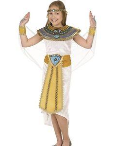 8573d1233cc3 Caricamento dell'immagine in corso Ragazze-Bambine-Egiziano-Costume-per- Bambina-Bambini-Cleopatra-