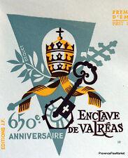 ENCLAVE DE VALREAS Yt1562  FRANCE  FDC Enveloppe Lettre Premier jour